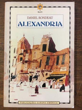 alexandria, daniel rondeau, europa-américa