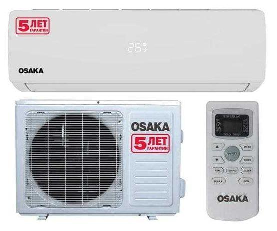НОВЫЕ! Продажа. Монтаж. Качественный кондиционер Osaka ST-12HH на 40м²