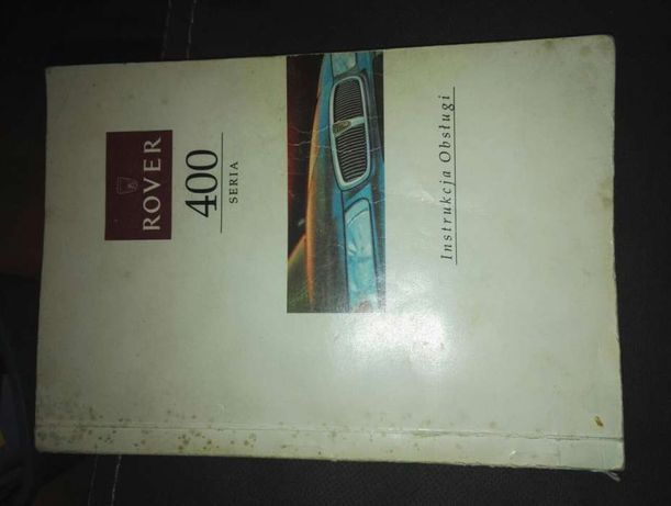 Instrtucja obsługi Rover seria 400