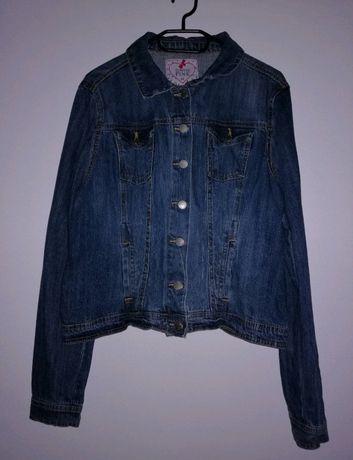 kurtka krótka jeansowa