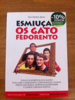 """Livro """"Esmiuçar os Gato Fedorento"""""""