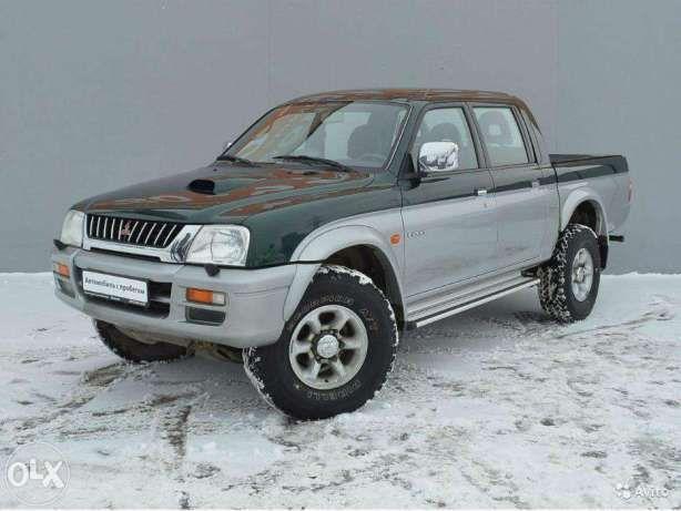 Mitsubishi L200 2500DIESEL/4WD 3пок. 2003г.в. 2.5 турбо дизель, полный