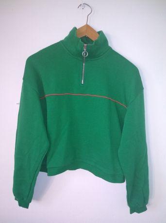 bluza zielona cropp