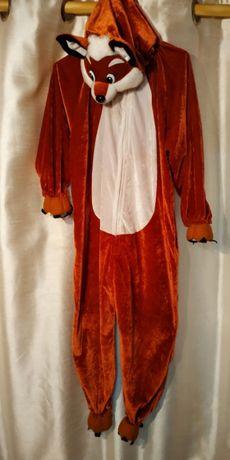 Маскарадный карнавальный костюм наряд лиса лисицы лисички на 6-8 лет