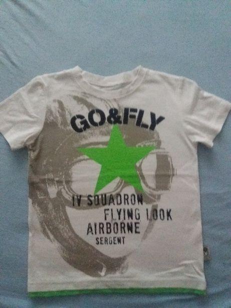 Koszulka na krótki rękaw, rozm. 116, firmy Coccodrillo.
