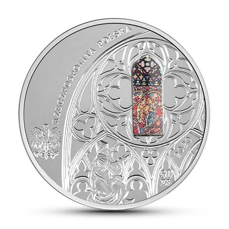 Moneta 700-lecie konsekracji kościoła Mariackiego w Krakowie