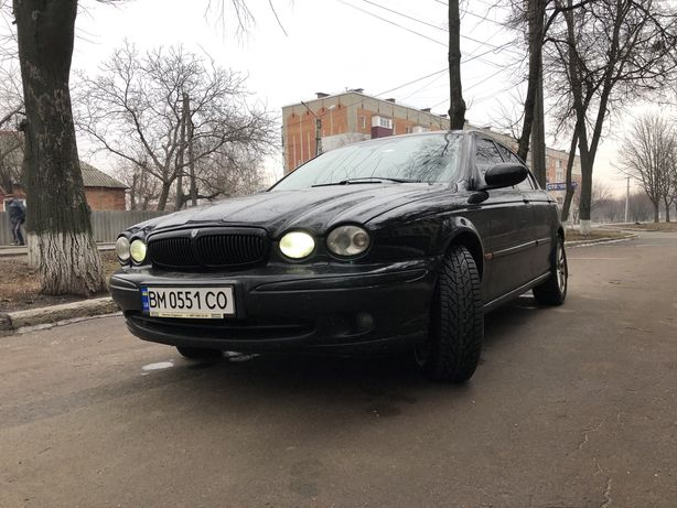 Jaguar X-Type на Daewoo Lanos