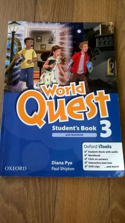 """World Quest"" Student´s Book 3, Oxford University, ISBN 978019412604"