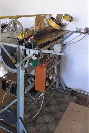Zgrzewarka do produkcji worków na śmieci - półautomat