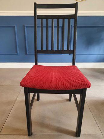 Krzesła drewniane, tapicerowane, restauracyjne
