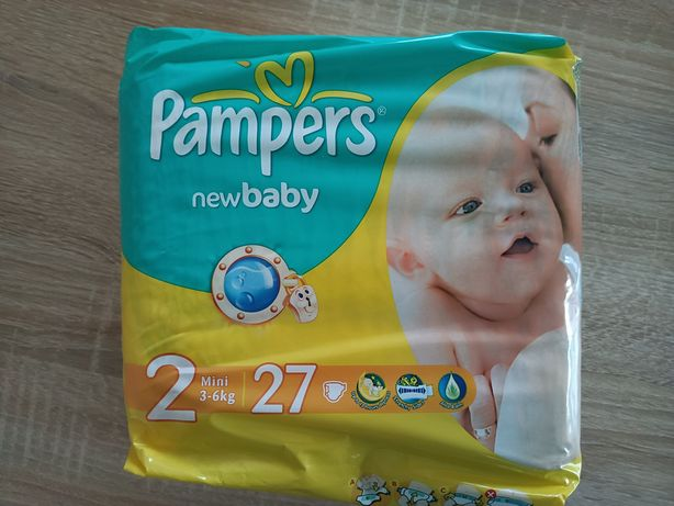 Pieluchy Pampers 2