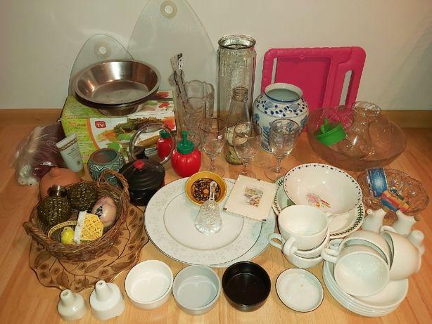 Zastawa stołowa naczynia wazony dekoracje artykuły gospodarstwa hurt