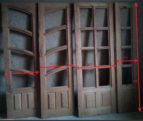 Продам дубові двері 4 шт