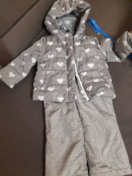 Gap зимний комплект, куртка и штаны Гап 3 года
