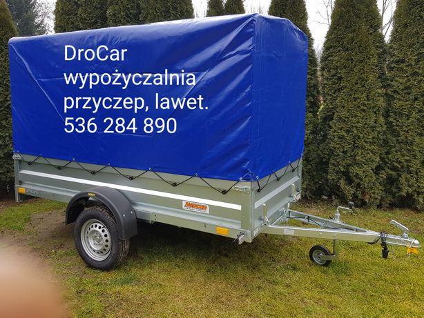 Wypożyczalnia przyczep, lawet,bagażniki  na rowery,  tanio, Kraków