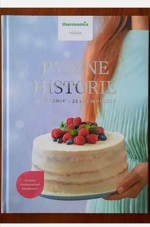 Pyszne historie thermomix Vorwerk książka kucharska