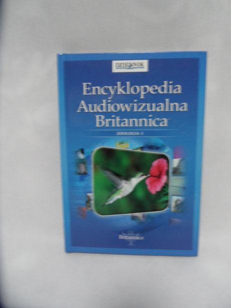 encyklopedia audiowizualna britannica plus płyta DVD zoologia