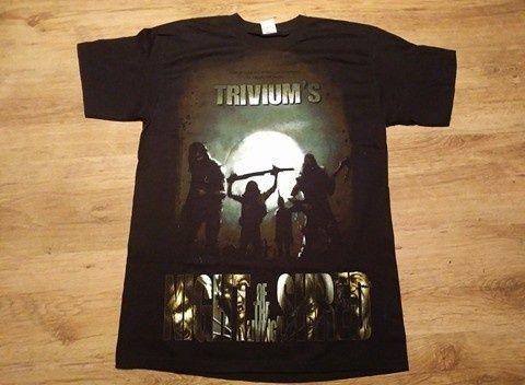 koszulki, t-shirt, metal, black metal, Trivium