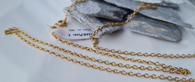 ŚLICZNY złoty łańcuszek pr.585 skup złomu w najlepszych cenach!