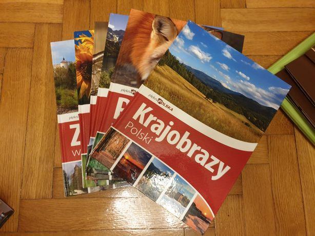 Piękna Polska kolekcja 6 szt książek