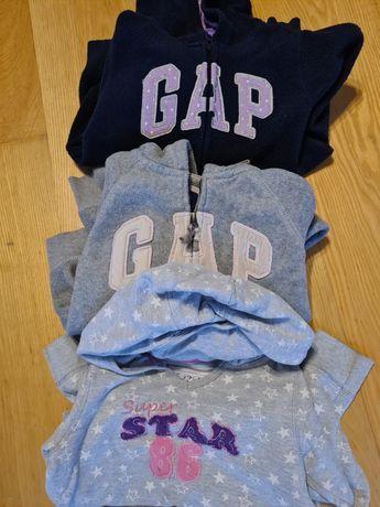 Bluzy sportowe 6/7 lat GAP r.122