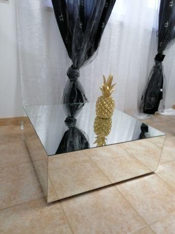 Mesa centro espelhada 700×700×270