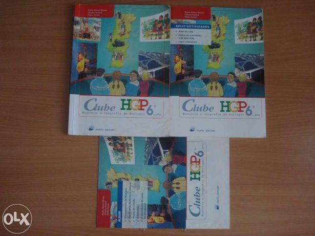 Livro História e Geografia de Portugal 6º Ano