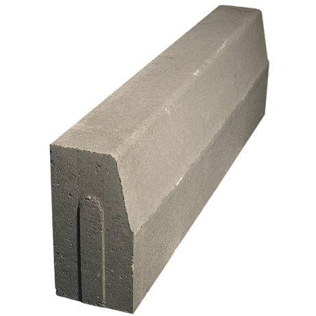 Krawężnik drogowy betonowy 15x30x100 cm
