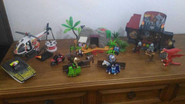 Playmobil Knights, Dragão, Bombeiros, Cavaleiros, Piratas