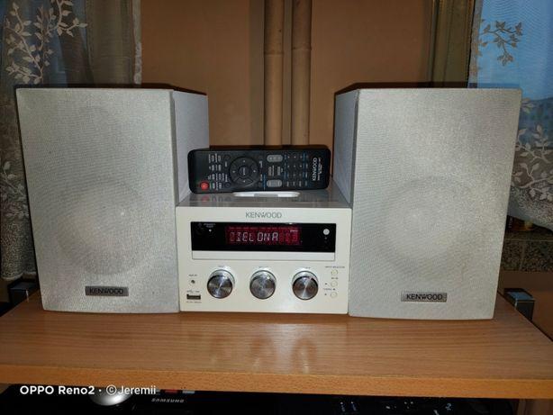 KENWOOD Ekstra Sprawna Mikrowieża HIFI DVD/CD/MP3/USB/IPhone/IPod
