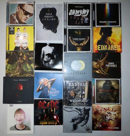 Płyty CD (AC/DC, Daria Zawiałow, Dawid Podsiadło itd)