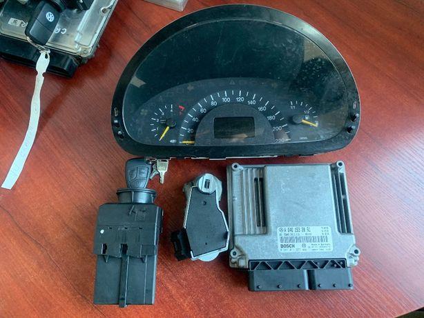 Zestaw startowy Sterownik silnika Vito 639 2.2cdi immo