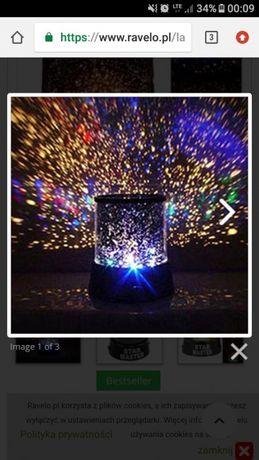 Lampka nocna emitująca gwiazdy nowa. Wymiana/sprzedaż