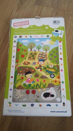 Puzzle obserwacyjne ogród 3+  zabawka zabawki