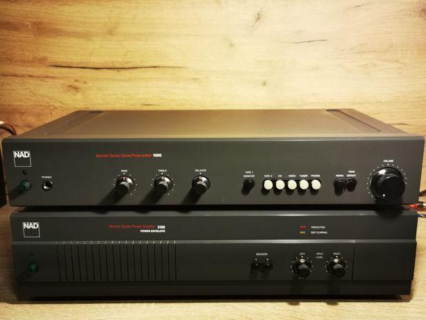 Końcówka mocy NAD, nad 2100+preamp, audiofilski nad, wzmacniacz