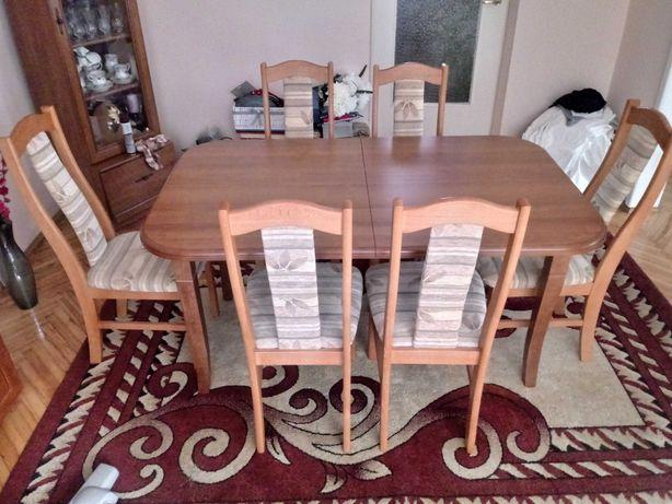 Sprzedam Stół rozciągalny z krzesłami