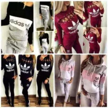 Dresy damskie z logo Adidas kolory i wzory S-Xl!!!
