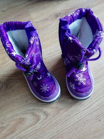 Buty zimowe śniegowe rozmiar 23