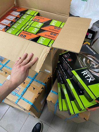 Оптом Видеокарты 1660 Super, RTX 2060 ti, Гарантия 24 месяца! Новые