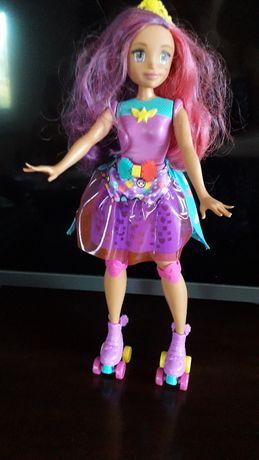 Barbie - na rolkach stan idealny !!!