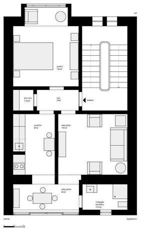 Apartamento T1, Penha de França