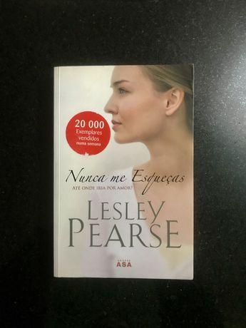 """""""Nunca me esqueças"""" - Lesley Pearse"""