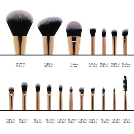 Кисти для макияжа, Кисти для визажа, Набор из 18 кистей
