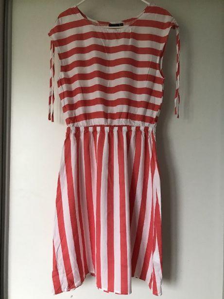 Sukienka w paski r.38