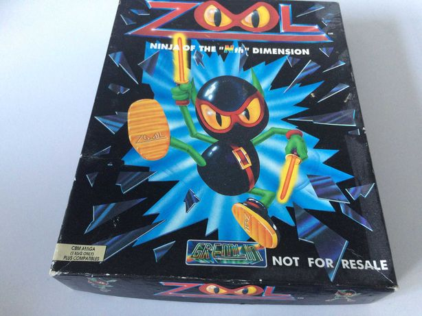 ZOOL Amiga 500/600/2000 BOX