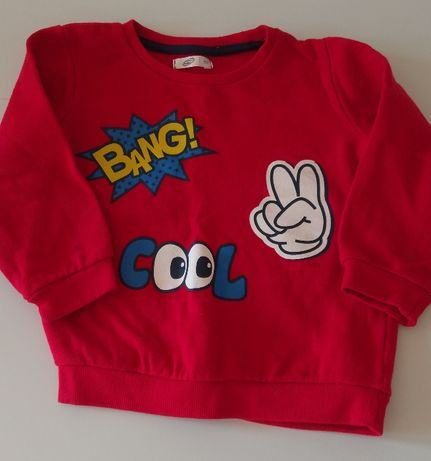 Bawełniana bluza rozmiar 92