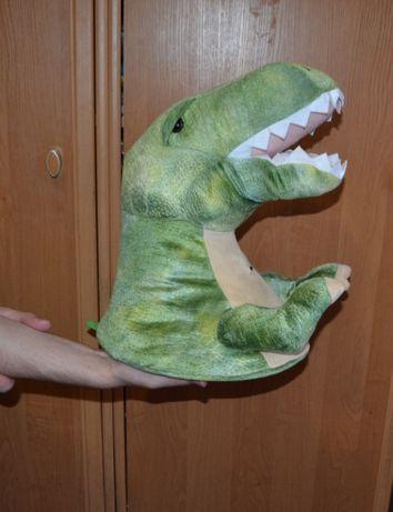 Мягкая игрушка Динозавр, дракон, голова, рычит, голова динозавра