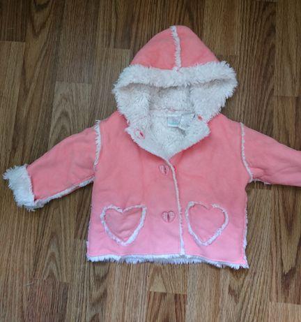Курточка-дубленка на малышку
