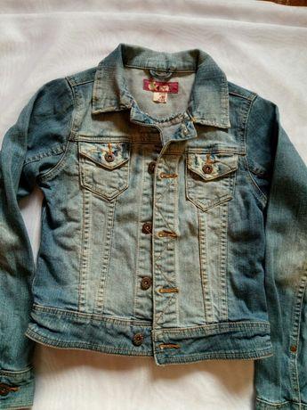Пиджак джинсовый на девочку р.152