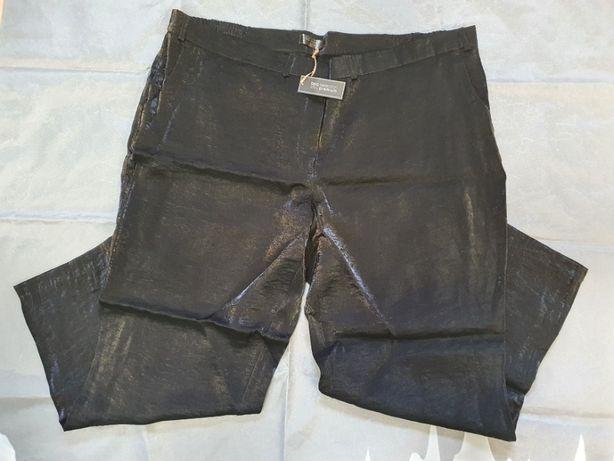 Spodnie wieczorowe damskie czarne w roz. XXL (roz.54) - bpc bonprix